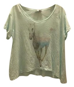 Wildfox T Shirt Apple green