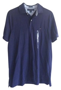 Tommy Hilfiger Men Polo Tommy T Shirt Navy