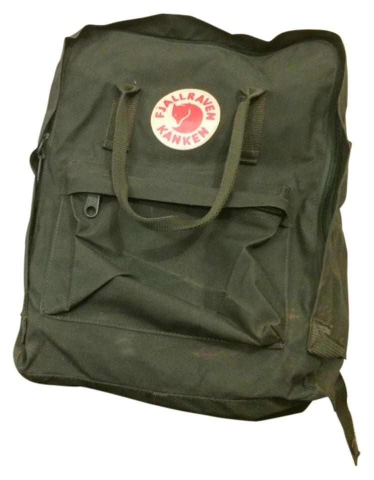 Kanken Army Green Vynylon Backpack 66% off retail