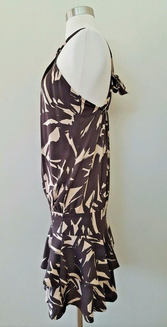 Diane von Furstenberg short dress Brown and beige Dvf Halter Dvf 2 on Tradesy Image 2