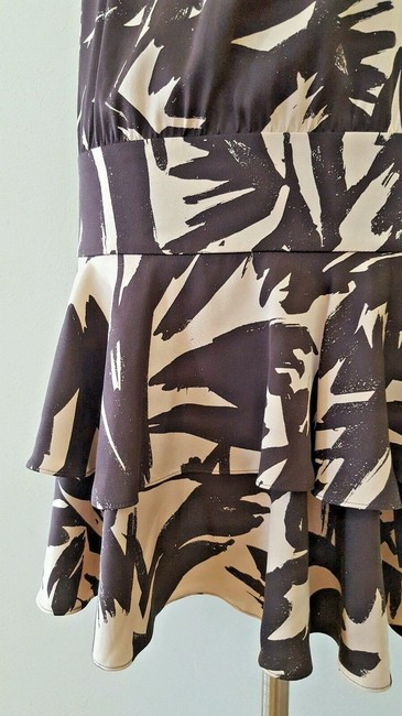 Diane von Furstenberg short dress Brown and beige Dvf Halter Dvf 2 on Tradesy Image 5