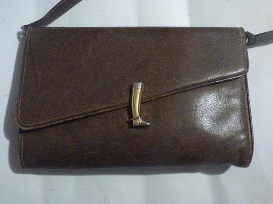 Gucci Equestrian Accents Multi-compartment Two-way Style Asymmetrical Top Shoulder Bag Image 1