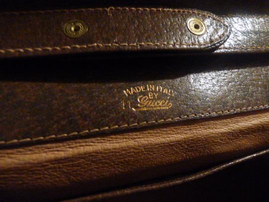 Gucci Equestrian Accents Multi-compartment Two-way Style Asymmetrical Top Shoulder Bag Image 10