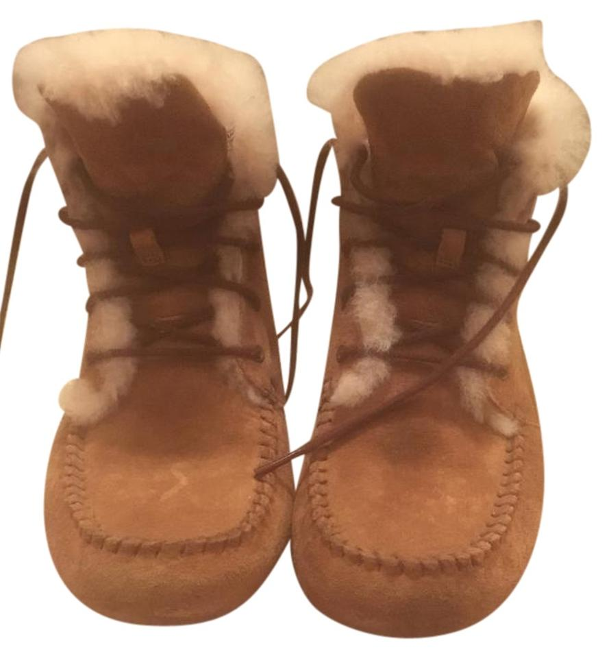 c936c105c50 UGG Australia Chestnut Brown Chickaree Boots/Booties Size US 8 Regular (M,  B) 80% off retail