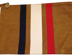 Clare V. Tan, Red, White, Navy Clutch