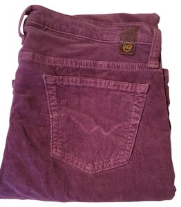 AG Adriano Goldschmied Angel Cords Mulberry Boot Cut Jeans