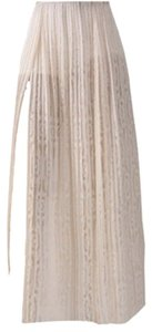 Ronny Kobo Collection Maxi Skirt Bone