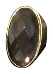 Dovajean Free Shipping + Smokey Quartz Dinner Ring