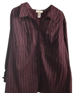 Covington Button Down Shirt Merlot