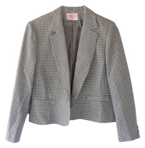 Pendleton Check Wool Blazer Jacket