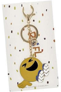 Other Yellow & Multi Color Message W/ R O F L Key Chain
