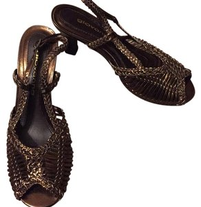 Giovanna Gold/bronze Sandals