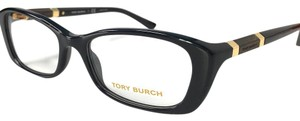 Tory Burch New Tory Burch Eyeglasses Black Wood with Case