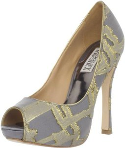 Badgley Mischka Badgley Mischka Roxie Platform Pump Wedding Shoes