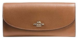 Coach Coach F54009 Crossgrain Leather Slim Envelop Clutch Wallet