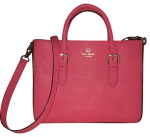 Kate Spade Satchel in Strawberry Pink
