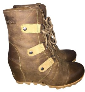 Sorel Boot Winter Wedge Cold Faded brown (Cafe) Boots