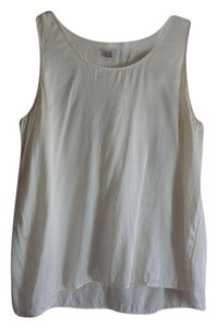 J. Jill Silk Jjill Silk Top White