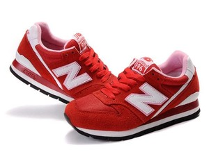 New Balance Red w/ white Athletic