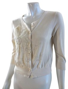 LC Lauren Conrad Rayon Stretchy Sweater 7403 Cardigan