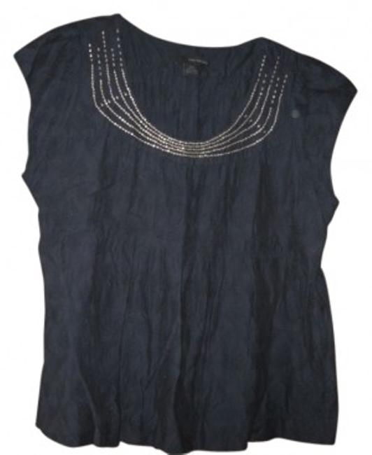 Preload https://item4.tradesy.com/images/calvin-klein-navy-gently-gathered-summer-pullover-blouse-size-20-plus-1x-20068-0-0.jpg?width=400&height=650