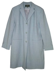 Lauren Ralph Lauren Blue Wool Pea Coat