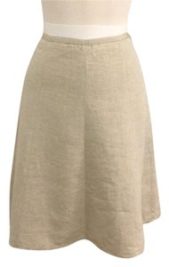 J.Crew Skirt Ecru with gold flex