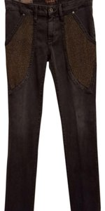 James Jeans Studded Straight Leg Jeans