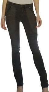 James Jeans Studded Cotton Slimming Straight Leg Jeans-Dark Rinse