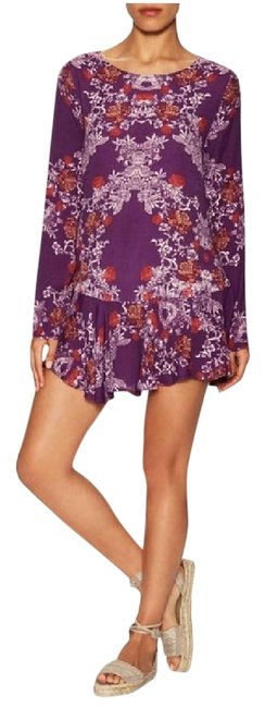 Preload https://img-static.tradesy.com/item/20068403/free-people-plumberry-combo-smooth-talker-short-casual-dress-size-2-xs-0-3-650-650.jpg