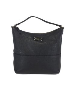 Kate Spade Black Pebbled Leather Tote