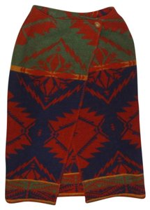 Ralph Lauren Navajo Skirt Multi-color