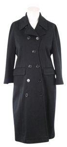 Paul Smith Trench Cotton Black Trench Coat