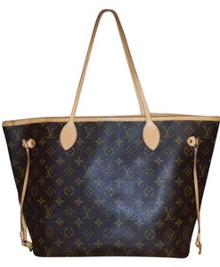 Louis Vuitton Neverfull Mm Neverfull Mm Tote in Brown
