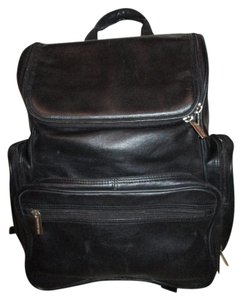 Kenneth Cole Leather Laptop Backpack