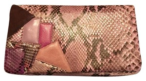Judith Leiber Lilac/purple/pink Clutch