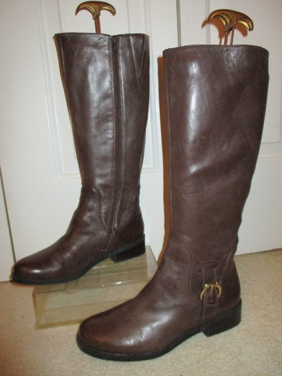 Me Too Leather Riding brown Boots Image 3