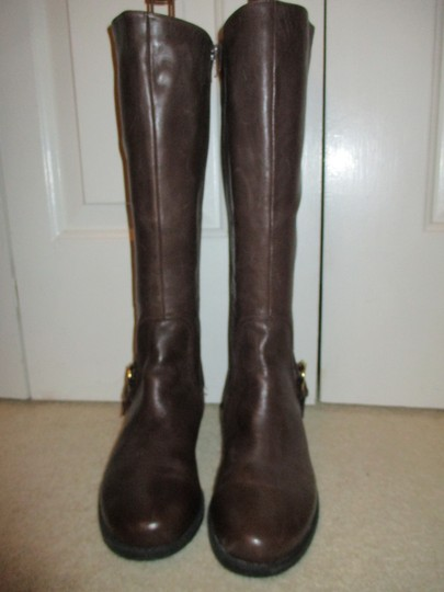 Me Too Leather Riding brown Boots Image 4