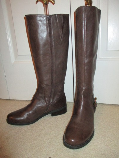 Me Too Leather Riding brown Boots Image 8