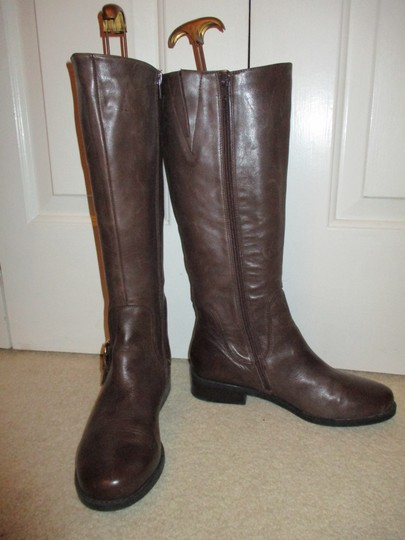 Me Too Leather Riding brown Boots Image 9