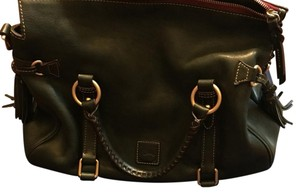 Dooney & Bourke Satchel in Evergreen