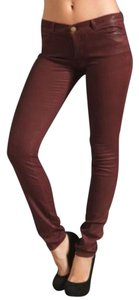 Current/Elliott Burgundy Leggings