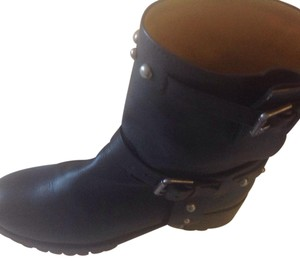 Polo Ralph Lauren Studded Black Boots