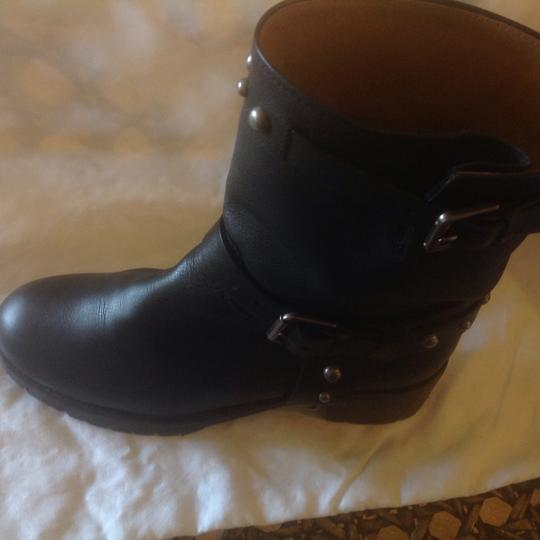 Polo Ralph Lauren Studded Black Boots Image 4