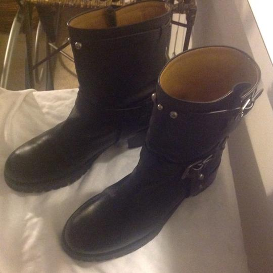 Polo Ralph Lauren Studded Black Boots Image 5