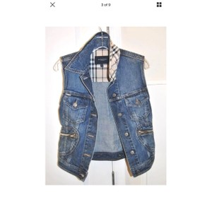 Burberry Womens Jean Jacket