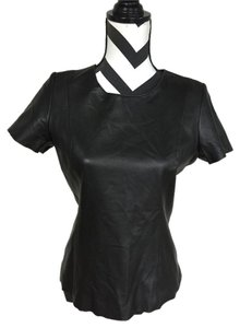 Calvin Klein Leather Top Black