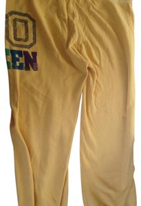Victoria's Secret Relaxed Pants Yellow