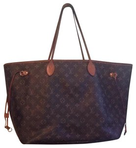Louis Vuitton Gm Neverfull Lv Tote in Monogram