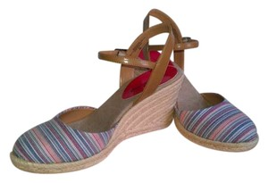 Bandolino Blue Multi Sandals